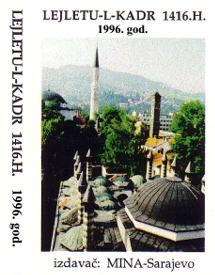 Mevlud za Lejletul-kadr 1416/1996